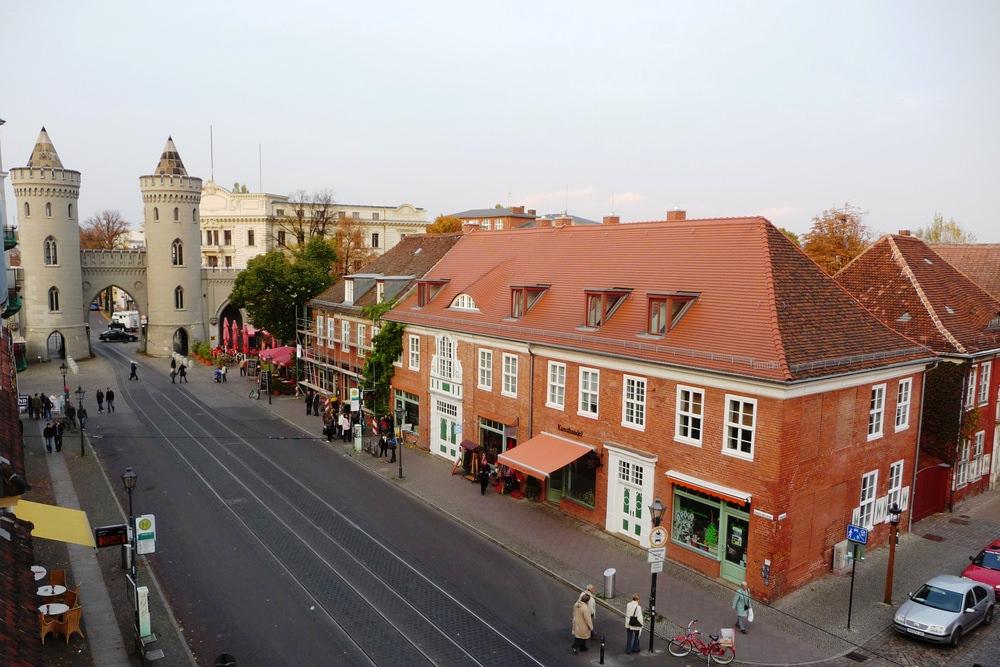 Entering the Dutch Quarter of Potsdam