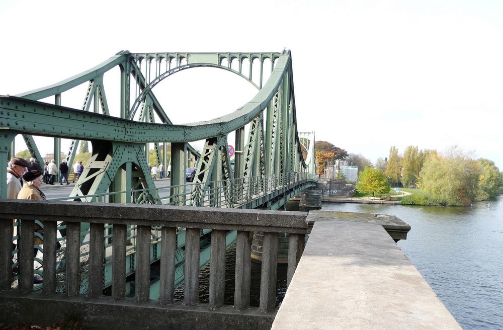The historic Glienicke Bridge