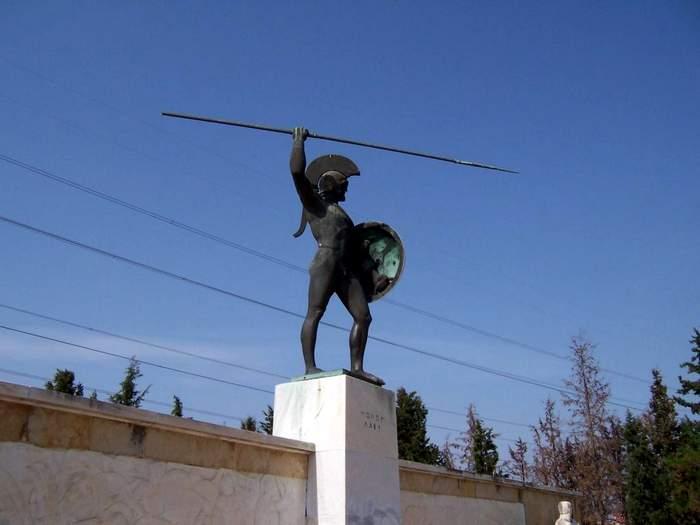 Statue of Leonidis