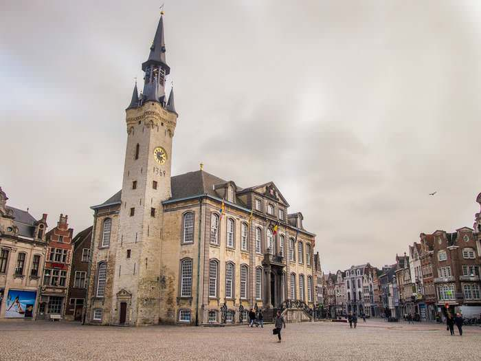 Town Hall and Belfry in Lier, one of the city's main attractions