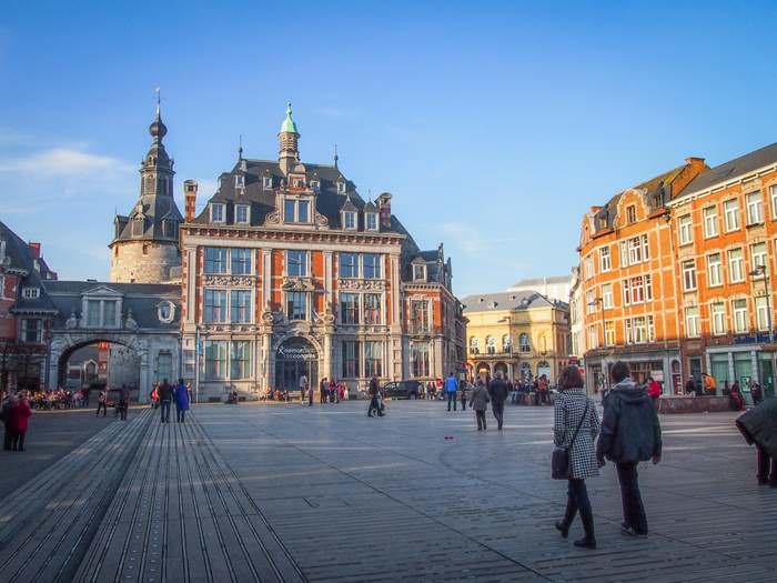 The Belfry in Namur is a UNESCO World Heritage Site