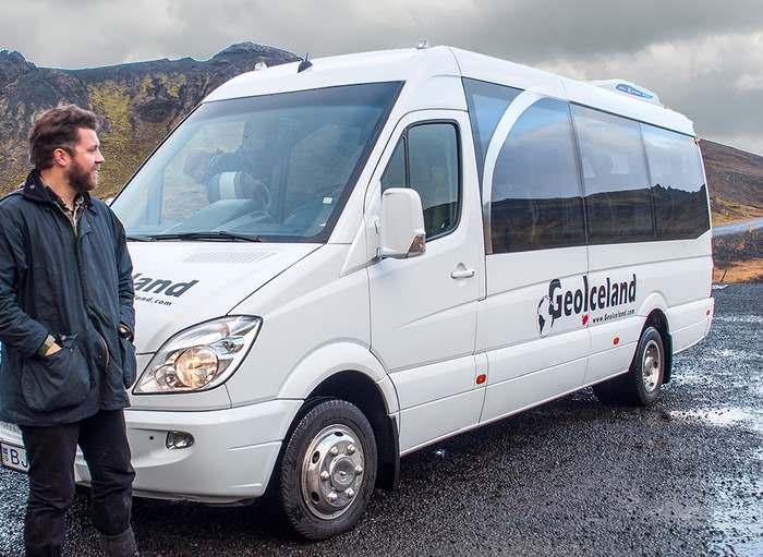GeoIceland's van