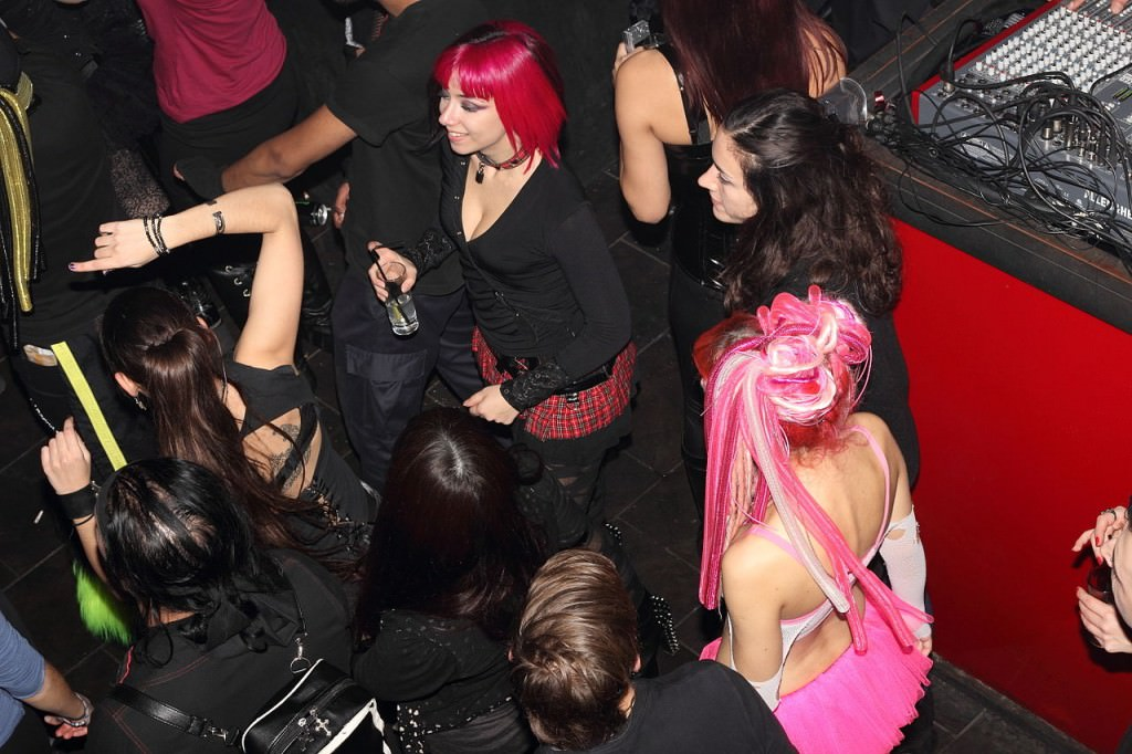Music concert at Second Skin nightclub in Athens' Psirri district