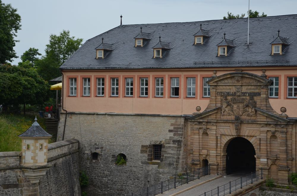 Petersberg Fortress in Erfurt
