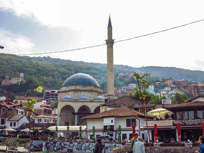 The Sinan Pasha Mosque in Prizren