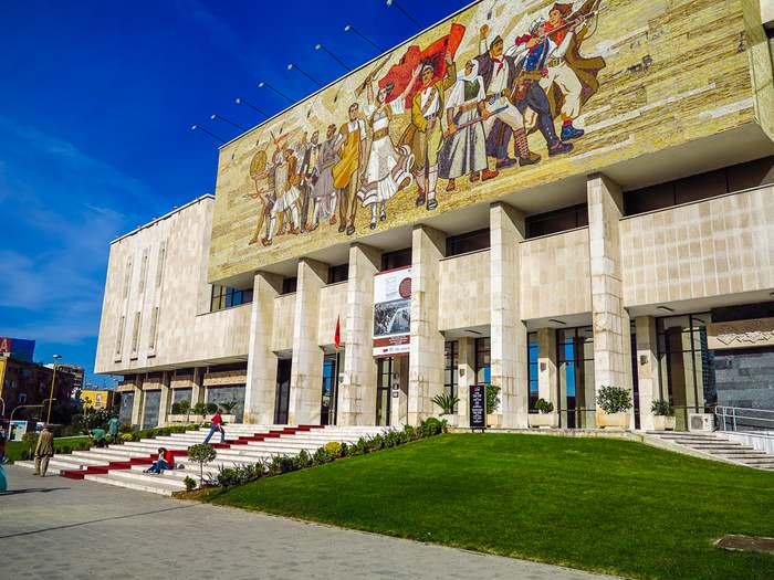 Tirana, Albania's National History Museum