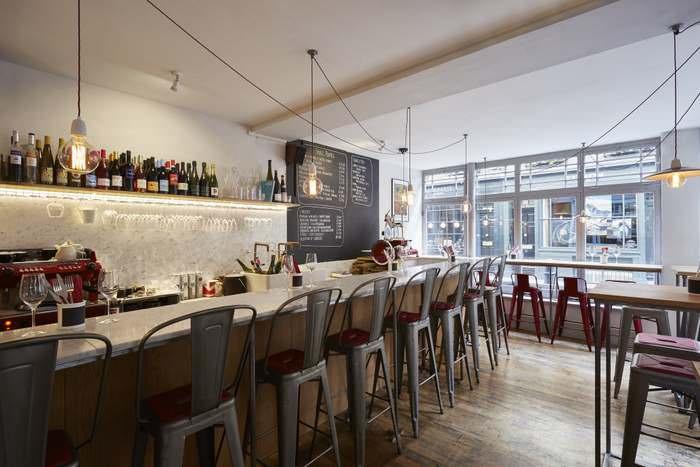 tables at Antidote Wine Bar