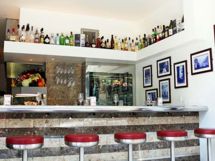 Barrafina tapas bar interior