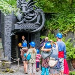 Entrance to King Arthur's Labyrinth