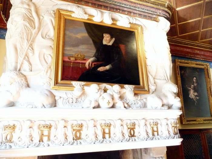 Diane de Poitier, a favorite of Henri II