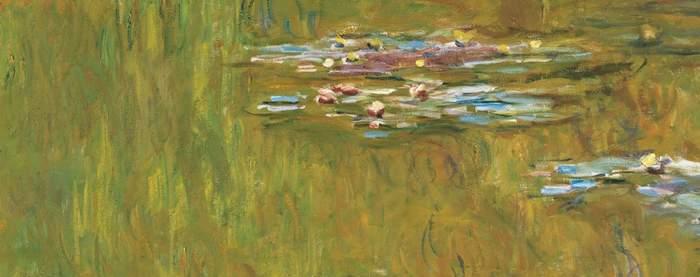 Monet's waterlilies at the Albertina