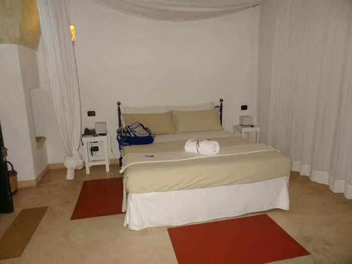 Bedroom at the Corte dei Francesi