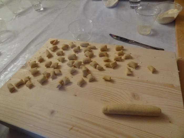 a lesson in making Orrecchetti
