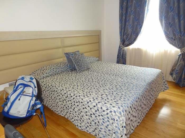 A bedroom at Palazzo Virgilio