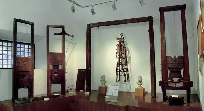 Rome's crime museum