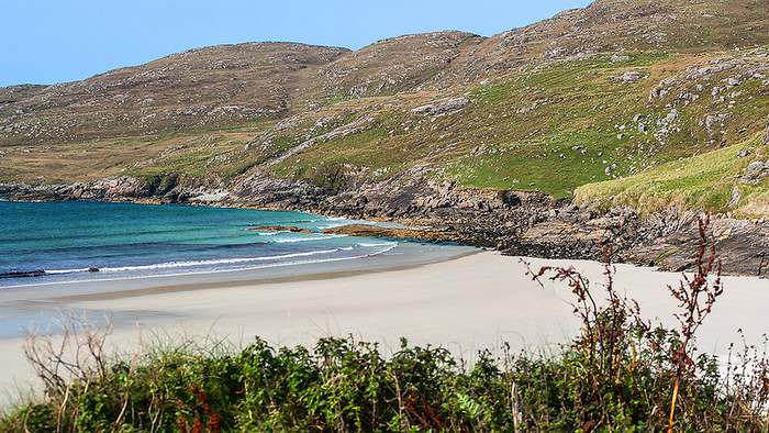 Siar Bay in the Scottish Isles