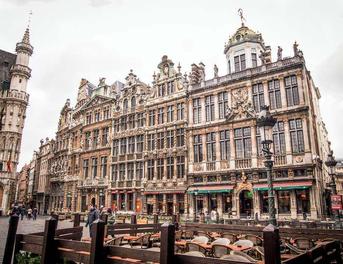uildhalls at the Grand-Place in Brussels
