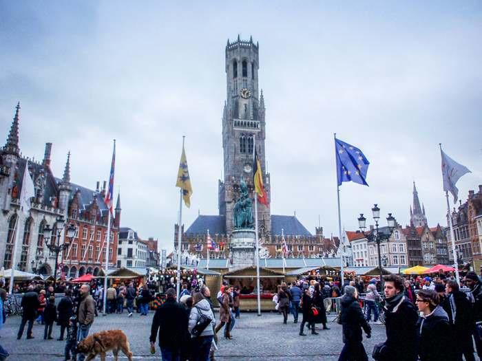 Belfry in Historic Bruges