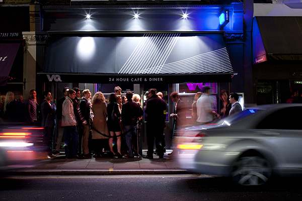 VQ24hours, a 24 hour restaurant in London