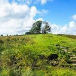 The Hadrian Wall trail