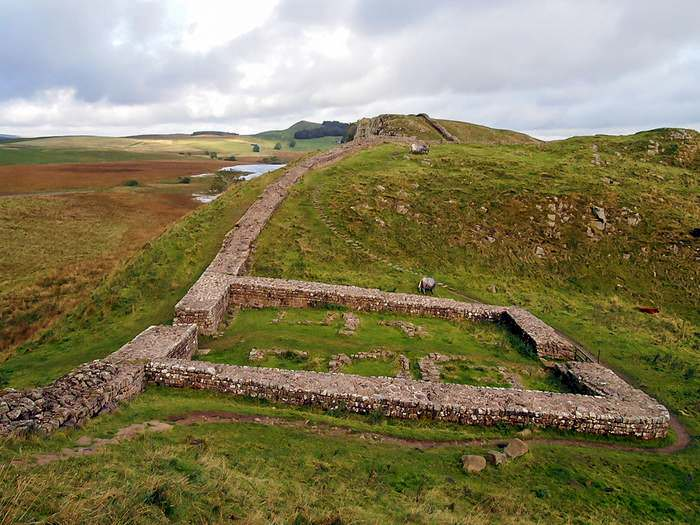 milecastle on Hadrian's wall