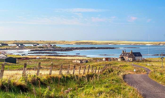 Northwest Coast of Uist, Scotland