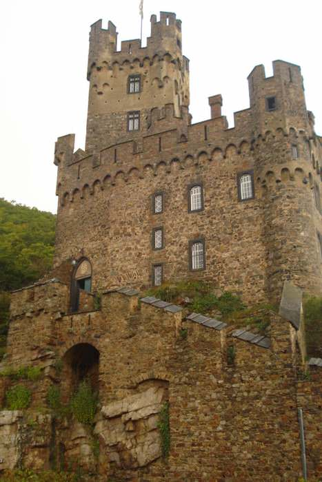 the Sooneck Castle was once a neo-Gothic hunting lodge