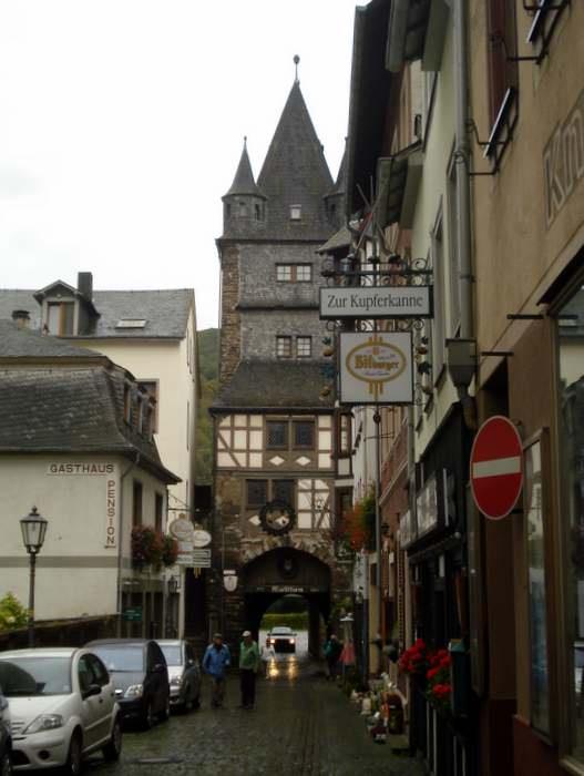 Bacharach, Germany street