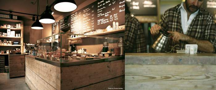 The Barn coffeehouse in Berlin