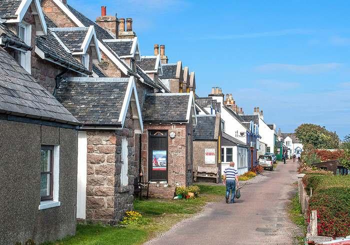 Baile Mor village