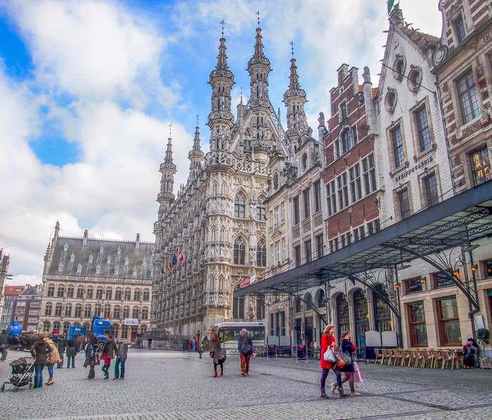Leuven Belgium Town Hall