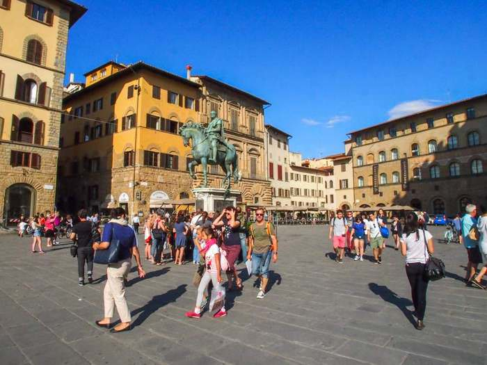 Florence's Piazza della Signoria