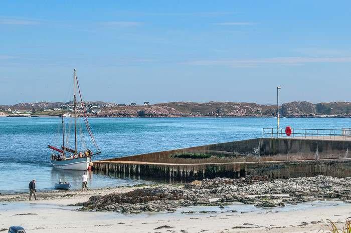 Iona's ferry dock