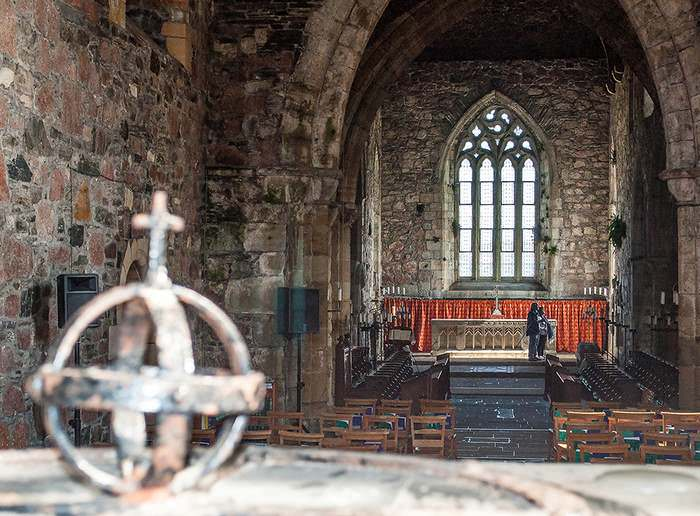 Nave of Iona Abbey
