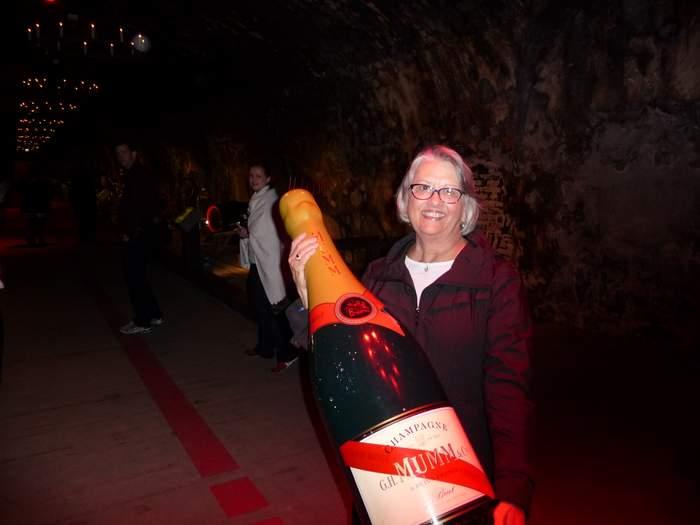 G.H. Mumm champagne