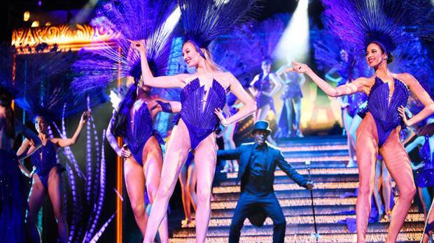 Dancer at the Lido in Paris