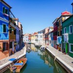 canal in Burano