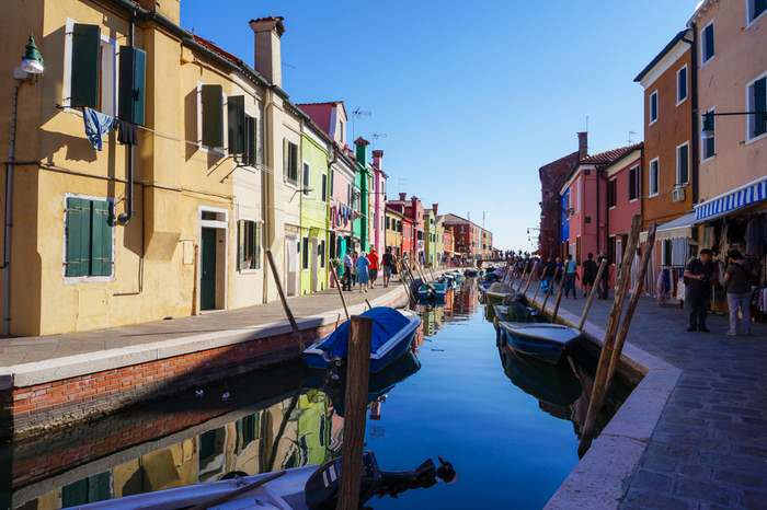 A Burano canal