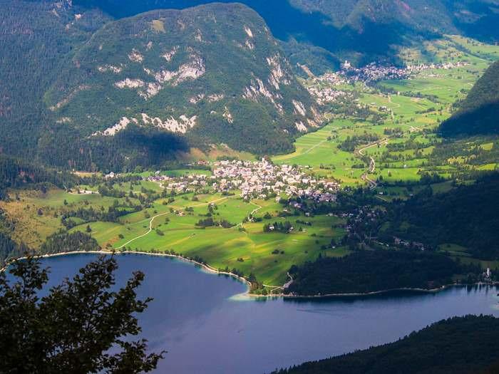 view of Slovenia