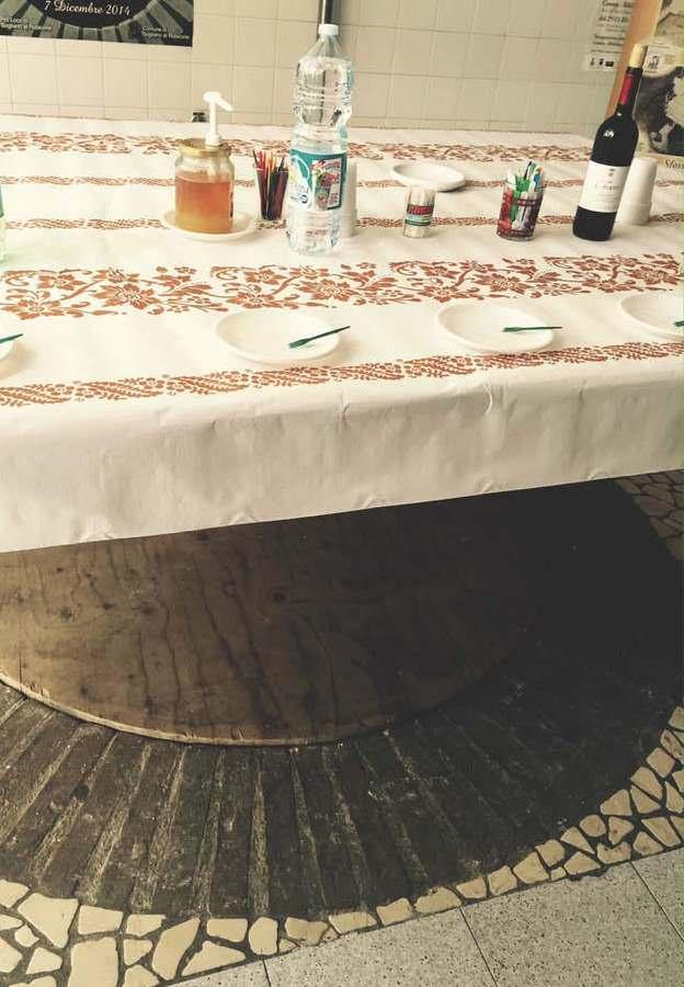 Cheese pit in Emilia-Romagna