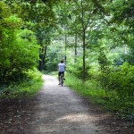 cycling through Charlottenburg