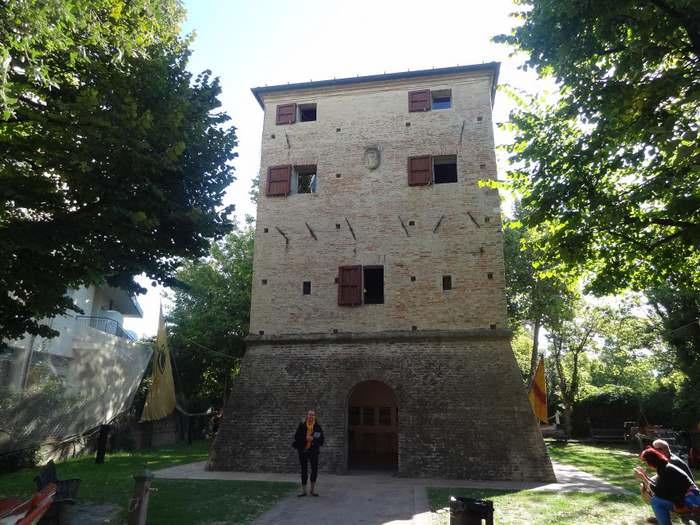 Torre Saracena in Emilia-Romagna