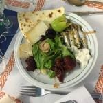appetizer at Hotel Eliseo.