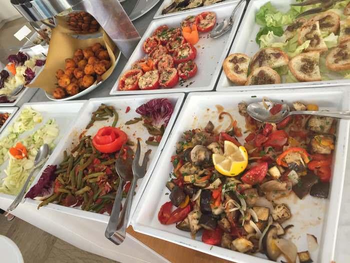 food at at Hotel San Salvador