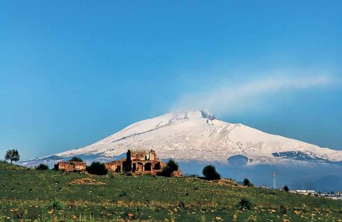 Sicily's Mt Etna