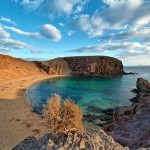 Playa de Papagayo in Lanzarote
