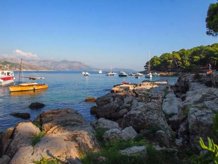Lokrum Island, near Dubrovnik