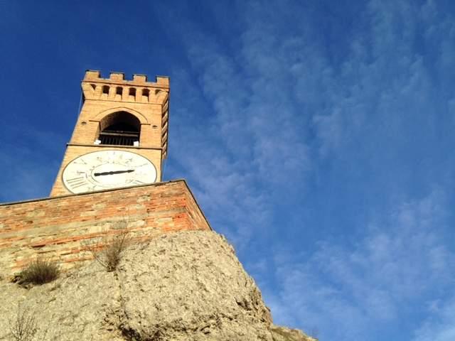 Clock Tower- Torre dell'Orologio in Brisighella, Italy