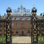 The ornate Edney Gates at Tredegar House