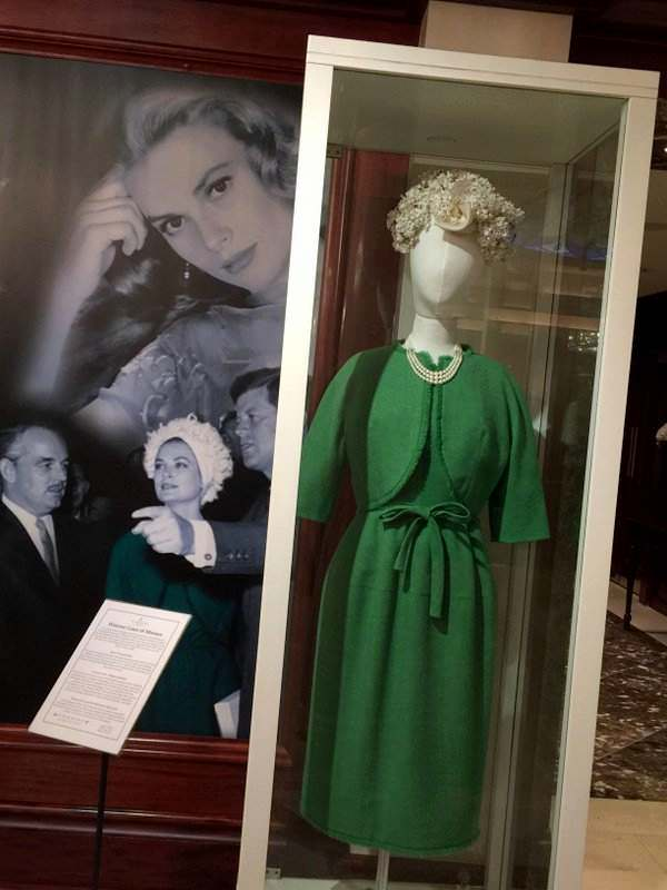 Princess Grace Kelly Rainier was an honored guest at the Shelbourne Hotel, Dublin.